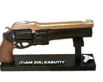 Customized replica inspired in Last word , 3D printed  gun 16 cm (6'3 in.)