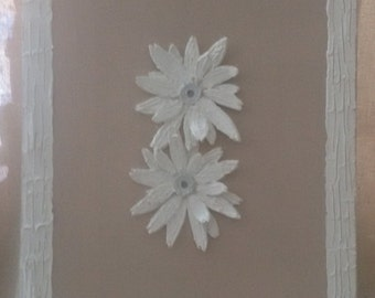 Painting daisies, shabby, gift ideas, ambient