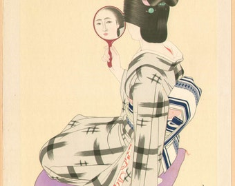 SHIMURA TATSUMI - Original Japanese Woodblock Print