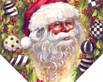 Personalized! Santa Pendant