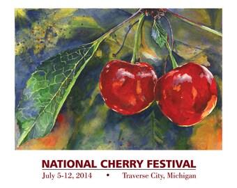 2014 National Cherry Festival Print
