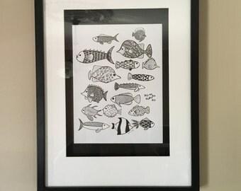 Fishy,fishy, fishy!