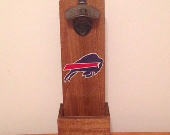 Wall Mounted Bottle Opener - Buffalo Bills