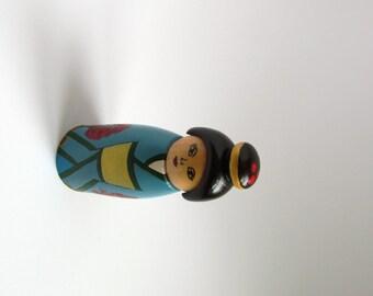 Free shipping kokeshi doll