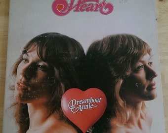 Heart - Dreamboat Annie - MRS-5005 - 1975 (1976 Early US Pressing) - Rare Wax To The Max Etching - VG-