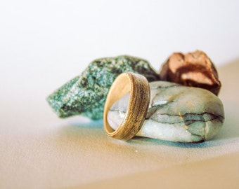 Two tone Wooden Ring