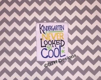 Kindergarten Never Looked So Cool, Kindergarten, Boys, Back to School