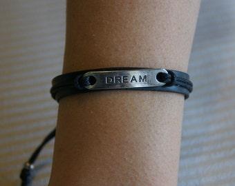 Men rubber bracelet
