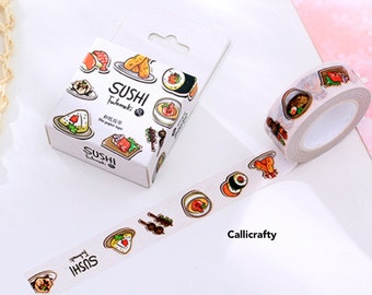 Sushi Japanese Washi Tape Masking Tape