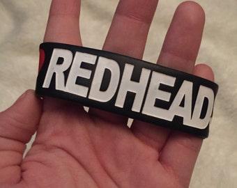 I Heart Redheads Jac Vanek bracelet