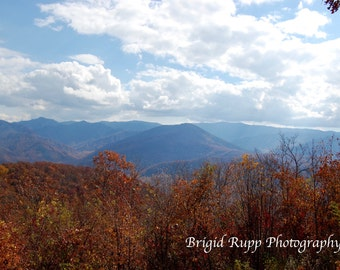 Fall in the Great Smoky Mountains, Gatlinburg Tennessee