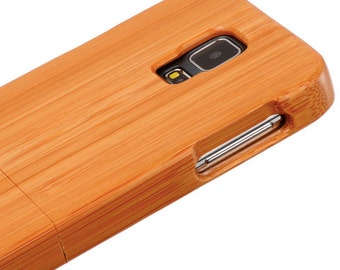 PREORDER-Free Ship- Samsung Galaxy S5 Bamboo Case for Samsung Cell Phone