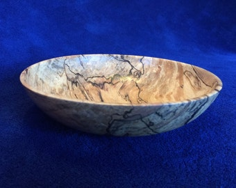 Spalted Maple Bowl  #110