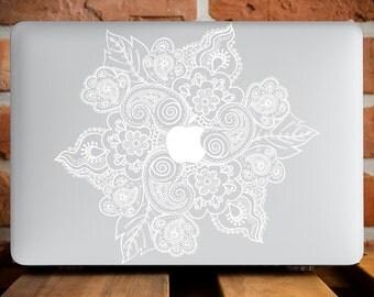 Mandala Flower Macbook Laptop Case MacBook Pro 13 Cover MacBook Air 11 Case MacBook 12 Case MacBook Air Cover MacBook Pro Retina 13 WCm017