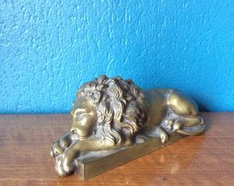 Figurine lion 20 x 9 x 8 cm