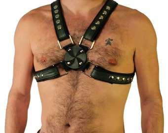 Men's Leather Harness