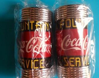 COCA COLA Vintage Salt and Pepper Shakers