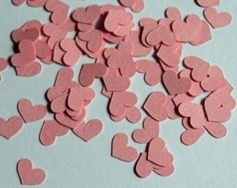"""Heart Shaped Confetti 1/4"""" tall"""