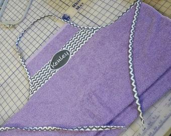 Wrap up baby towel apron!