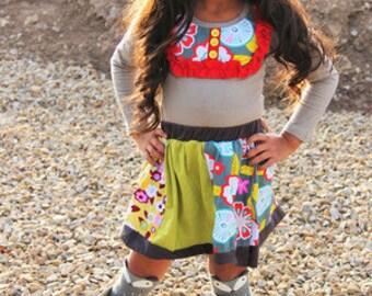 Ava skirt set size 3T