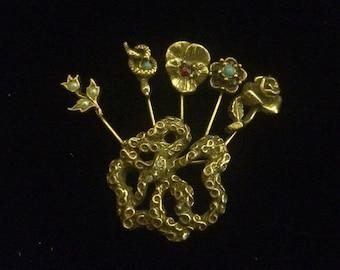 Gold Flower Bouquet