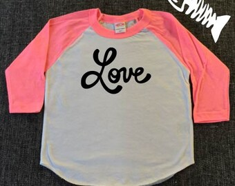 Toddler Boy, raglan, baseball tee, toddler girl, trendy boy, tshirts, Love, Valentines day