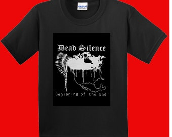 """Dead Silence """"The Beginning Of The End"""" t-shirt"""