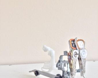 Birdbike  (computer parts sculpture)