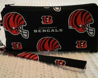 Cincinnati Bengals wristlet