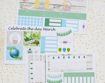 March monthly kit / Erin condren monthly kit