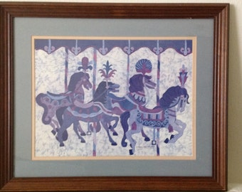 Carol Kline Blanchard ~ limited edition Batik, signed and numbered