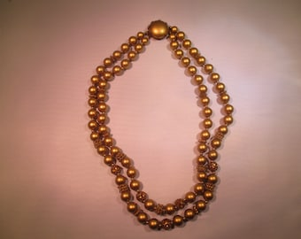 gold tone beads