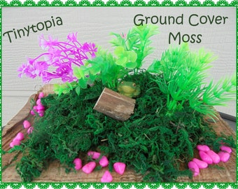 Fairy Garden Artificial Moss Ground Cover