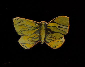 Impressionist Butterfly Pin
