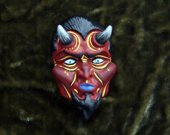 Blue Eyed Devil lapel pin