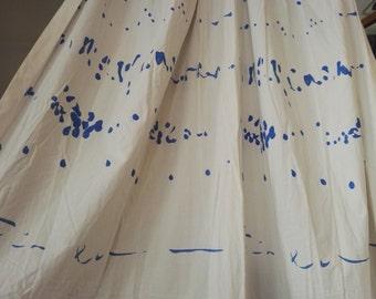 "Vuokko design ""Pianissimo"" curtains from 80s"