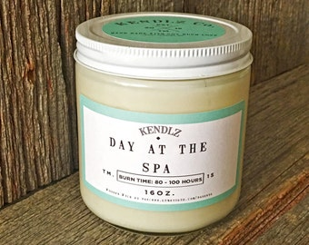 Day at the Spa - Phthalate Free Soy Candle