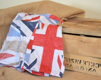 Handmade little kids shorts - union jacks