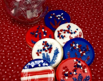 4th July Sugar Cookies