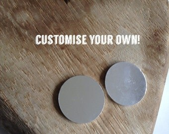 Customise Your Own Necklace - 2 discs.