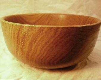 Oak Handmade Wooden Bowl