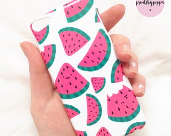 Happy Watermelon iPhone 4/4S, 5/5S, 6/6S/6 Plus, iPod Touch 5/6 Case
