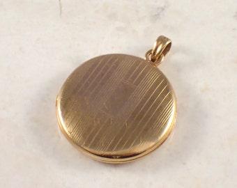 10K Yellow Gold Antique Locket