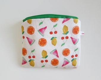 Make-up bag summer fruits