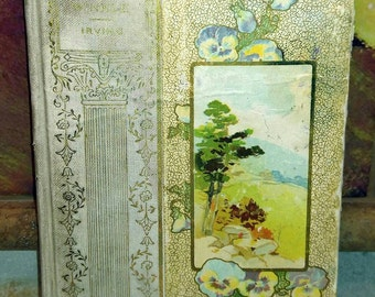 Washington Irving, Rip Van Winkle, Gorgeous Antique Book Published by Henry Altemus (1896)