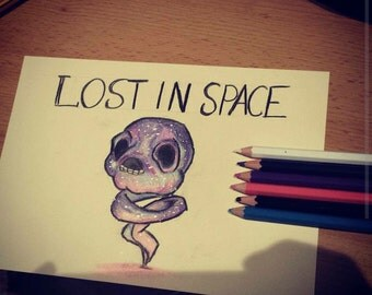 Hand drawn The lost from the binding of isaac