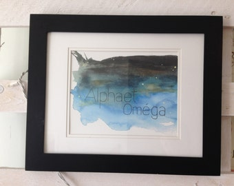 Alpha and Omega - Reproduction work Christian