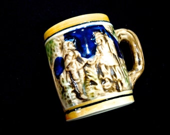 VINTAGE: Small Beer Stein Made in Japan - Decorative Stein - Decorative Stein - (15-C1-00004131)
