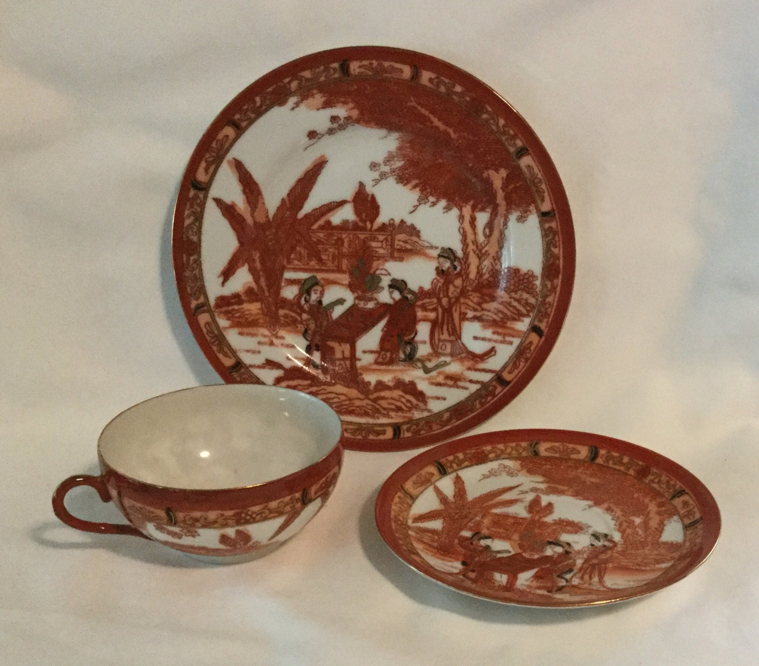 Japanese Tea Set Etsy