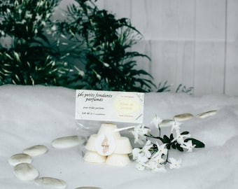 Flux scented Jasmine Flower in soy wax and perfumes of Grasse